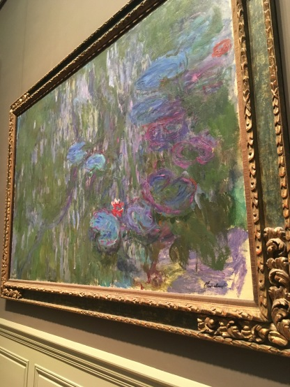Water Lilies, Claude Monet, 1919.