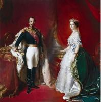 Eugénia de Montijo e Napoleão III