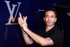(FILE PHOTO) Marc Jacobs is leaving Louis Vuitton to prepare his own brand. PARIS, FRANCE - MARCH 07: Designer Marc Jacobs attends the Louis Vuitton Ready-To-Wear Fall/Winter 2012 show as part of Paris Fashion Week on March 7, 2012 in Paris, France. (Photo by Michel Dufour/WireImage)