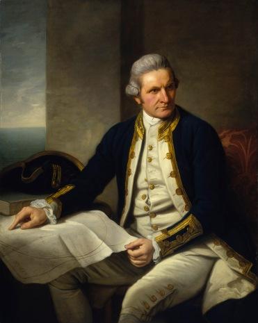 Retrato de James Cook