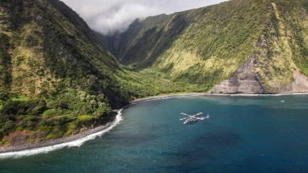 Para ver vulcões em erupção: rolê de helicóptero