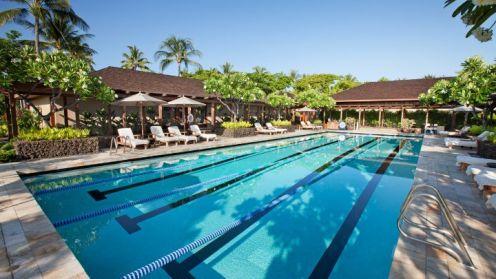 Piscina 4/4 onde o Phelps passa férias